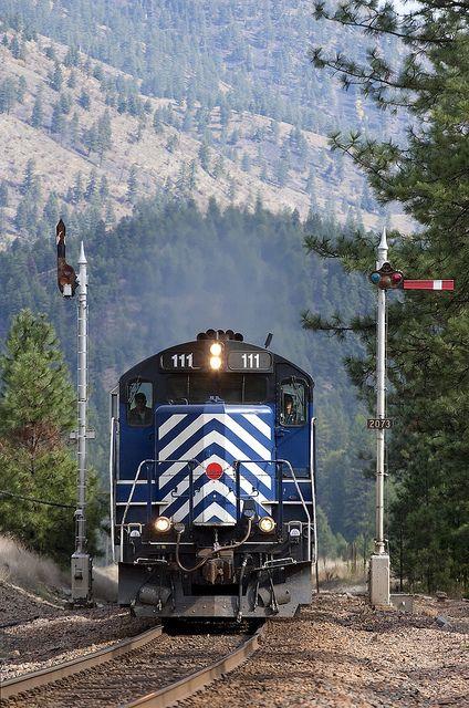 Montana Rail Link splitting blades by MRL 390, via Flickr