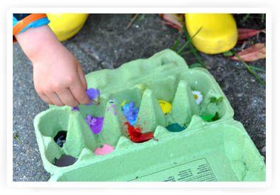 kleurenwandeling, leuke activiteit voor kinderen