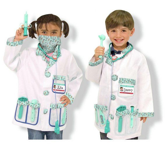 Buy Melissa and Doug Doctor Role Play Set at Argos.co.uk - Your Online Shop for Children's fancy dress accessory sets, Children's fancy dress, Role play, Toys.
