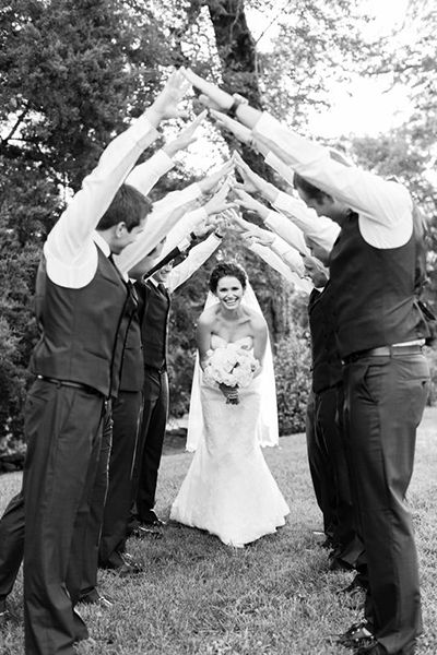 All hail the bride!