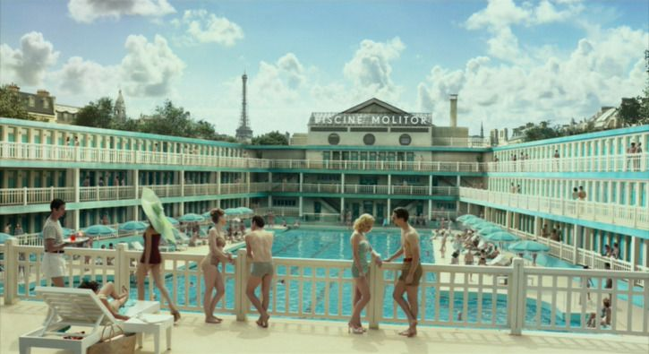 Reviving the Abandoned 'Life of Pi' Art Deco Pool in Paris. Article from @MessyNessy Chic