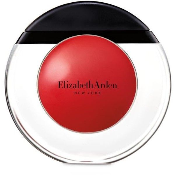 Elizabeth Arden Rejuvenating Red Tropical Escape Sheer Kiss Lip Oil ($20) ❤ liked on Polyvore featuring beauty products, skincare, lip care, lip treatments, cosmetics, rejuvenating red, anti aging lip treatment and elizabeth arden