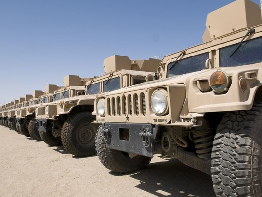 Hummer Down: US Army To Make Millions Auctioning Off Humvees