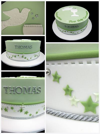 confirmation first holy communion cake inspired by michelle cake designs
