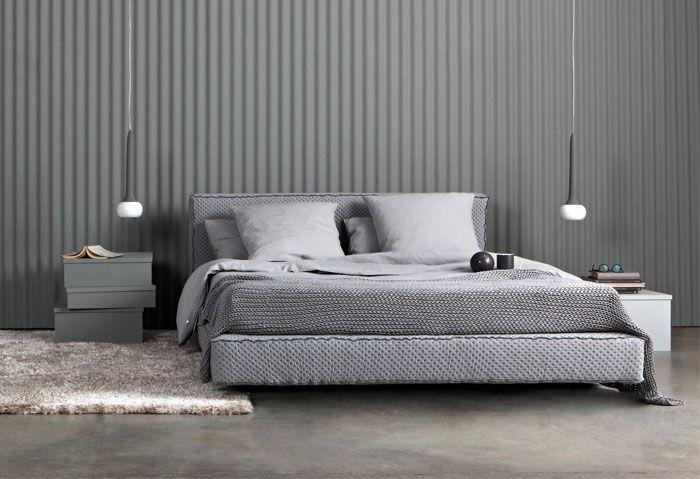 Kultur des guten Schlafes Bett modern, Schlafzimmer