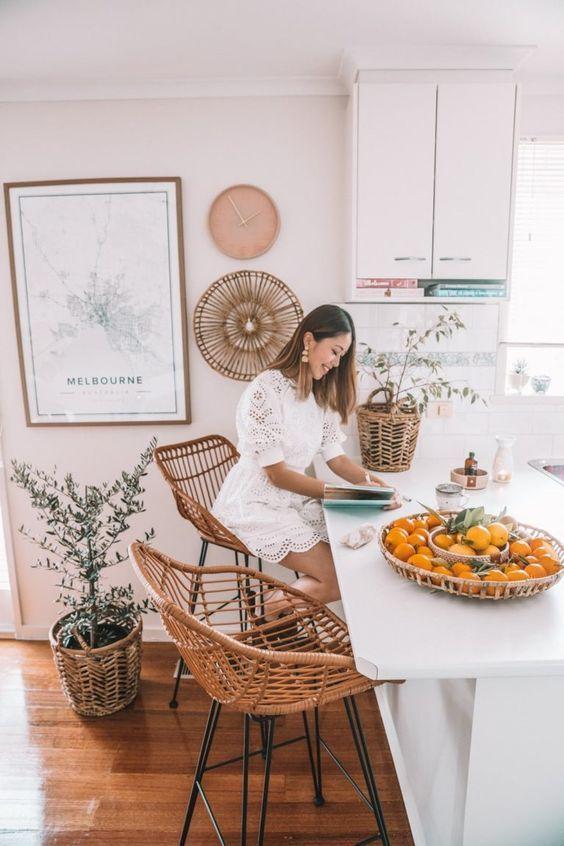 Boho Kitchen Decor Copper Kitchen Decor Country Kitchen Decor Cute Kitchen Decor Elegant Kitch Boho Kitchen Boho Kitchen Decor Interior Design Living Room