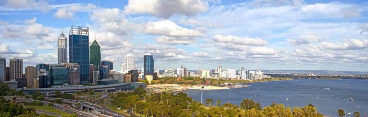 Perth, western Australia, downtown skyline! #perth #wa #westernaustralia #australia #skyline #kingspark