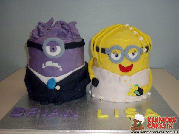 Minion Wedding Cake