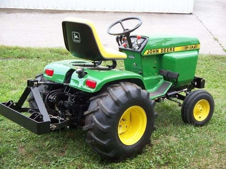 54 best tractors images on Pinterest | Lawn tractors, John deere ...