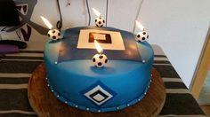 HSV-Torte mit Fondant