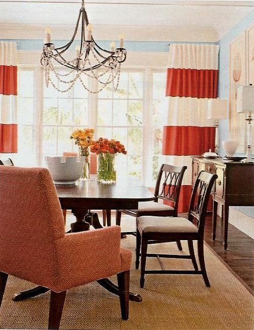 Attractive Horizontal Striped Curtain Inspiration