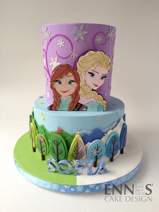 Best 25+ Anna frozen cake ideas on Pinterest Frozen ...