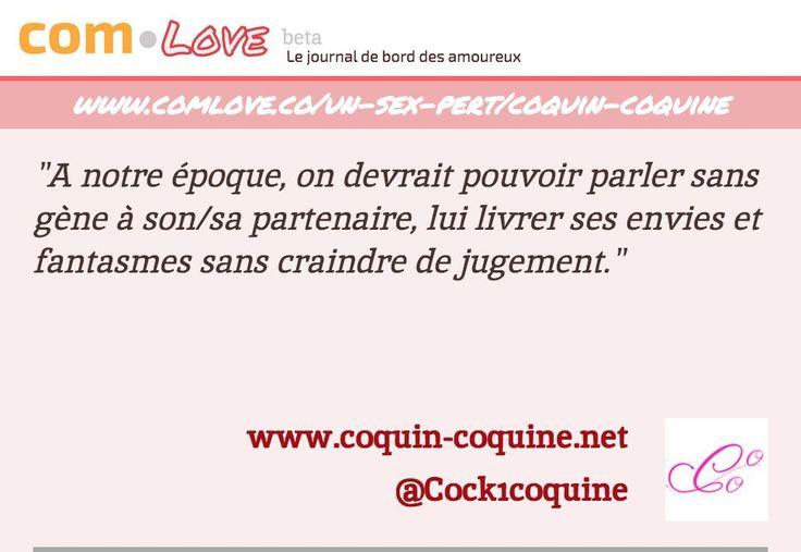 Interview de Coquin Coquine par ComLove http://www.comlove.co/un-sex-pert/coquin-coquine Merci @comlovefr