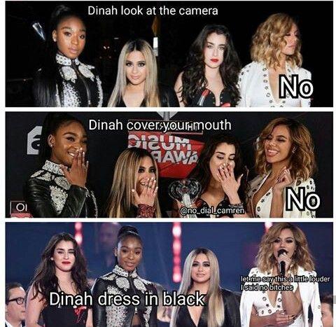 I love Dinah soooo much she's soooo funny, cool, and chill ❤️