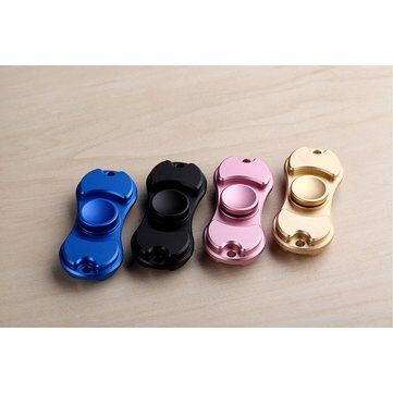 Rotating Fidget Hand Spinner ADHD Autism Fingertips Fingers Gyro Reduce Stress Focus Attention Toys Sale - Banggood.com