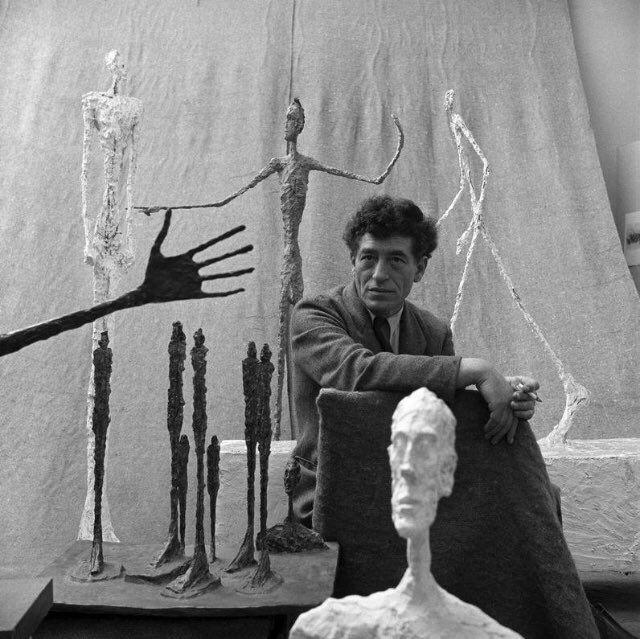 Alberto Giacometti 1951https://twitter.com/