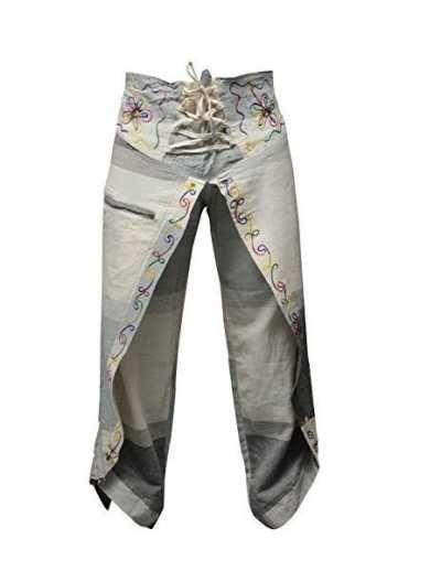 Shopoholic Pantalones Multicolor Hippie Ofertas especiales y promociones  Caracteristicas Del Producto: Algodón 100% Cruzado redondo % de 100% algodón