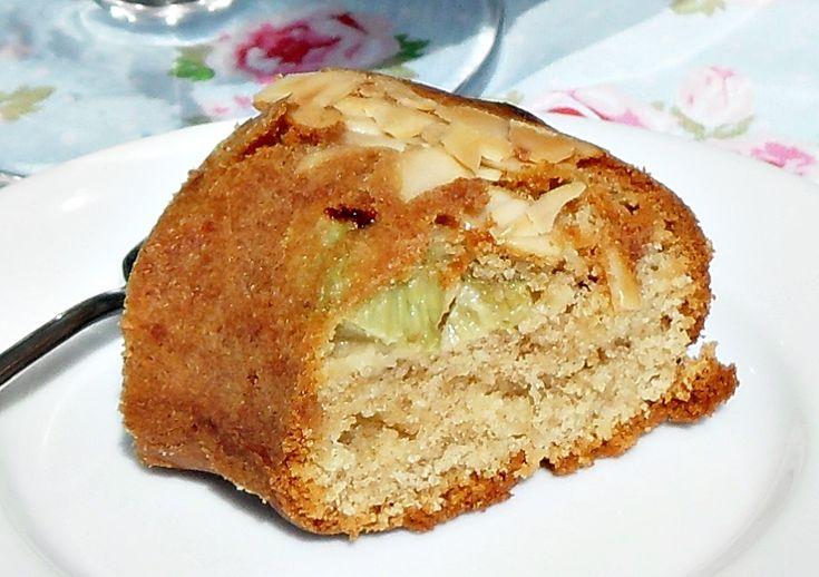 Rhubarb and Marzipan Cake                                                                                                                                                                                 More