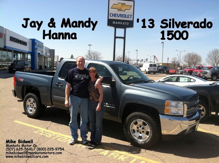 Mike Bidwell Mankato Motors Thanks Jay Mandy For