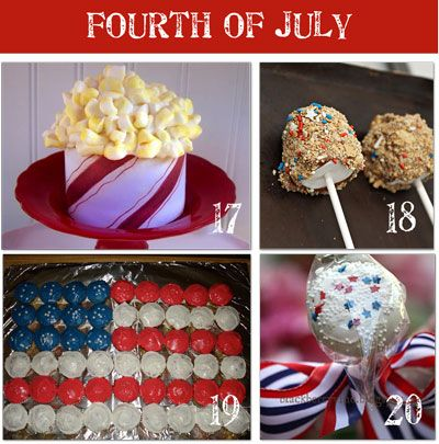 creative 4th of july food & decorationsCrafts Ideas, Desserts Ideas, Fourth Of July, Food Decorations, Creative 4Th, July'S Memories, 4Th Of July, Parties Ideas, July Food
