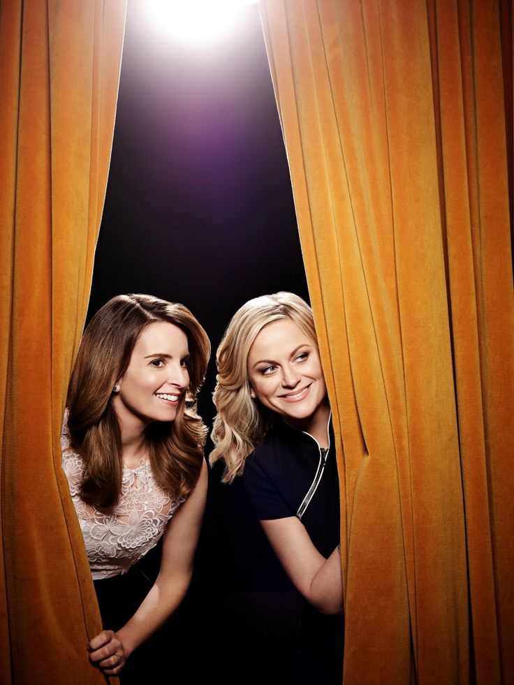 tina fey and amy poehler! funny as it gets! they rocked the golden globes