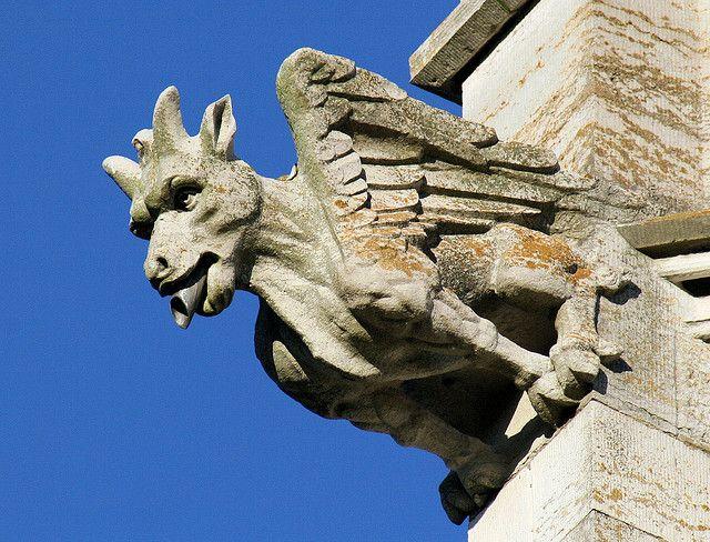 Bodelwyddan Marble Church - Clwyd, Wales | Gargoyles ...