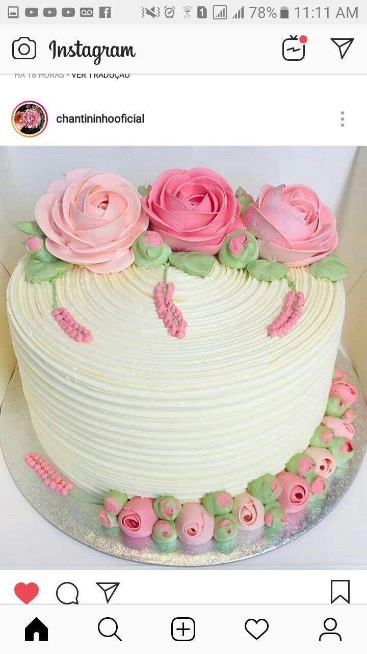 Tortas Modernas Cupcakes Etc De Bano Y Flores De Mantequilla