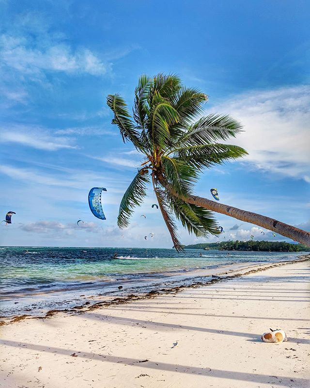 Boracay Beach: Sat And Watched At Least 50 Kitesurfers In The Water Today