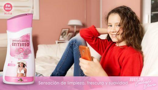 Jabón líquido íntimo Juesar Cuidado diario con PH ideal para niñas y jovencitas. para una mujer segura, para una mujer Juesar