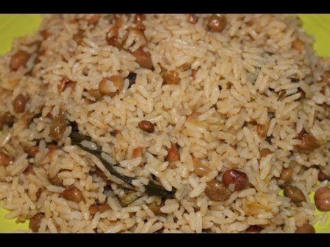 HOW - TO MAKE REAL JAMAICAN RICE AND PEAS |  GUNGUH GREEN PIGEON PEAS