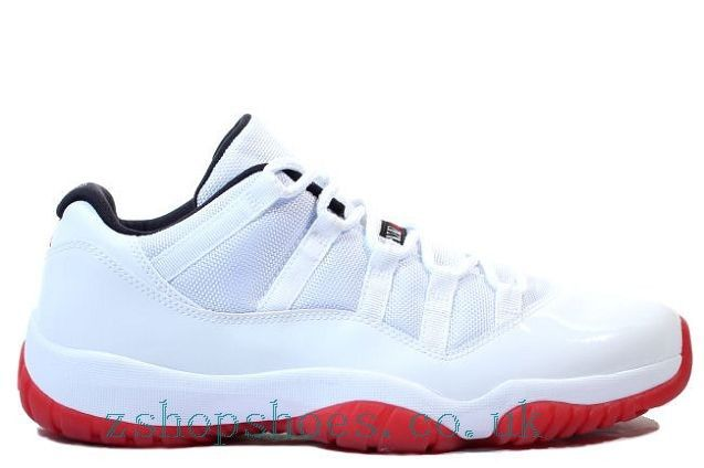 Air Jordan 11 (XI) Retro Low White/Varsity Red UK Zshop-047 Sale