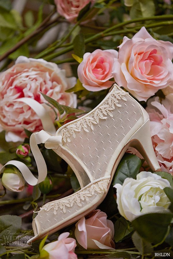 bhldn spring 2015 bridal bohemian satin wrapped medium heel wedding shoes swiss dot botties