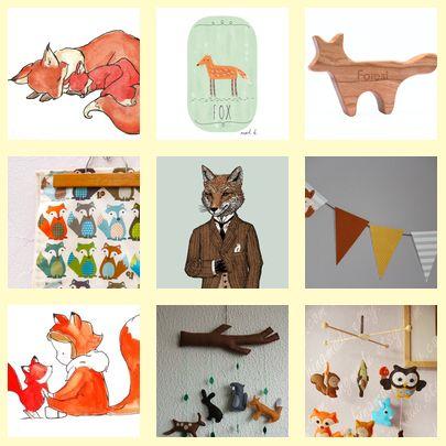 Fox Theme Nursery