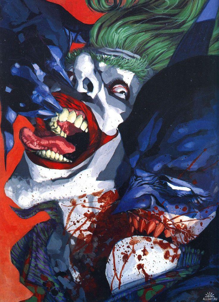 https://s-media-cache-ak0.pinimg.com/736x/de/2e/92/de2e92726f71a52455553f8a7ccc3083.jpg Comic Joker Painting