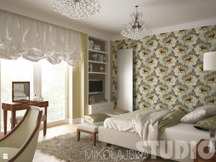 Luksusowa sypialnia - zdjęcie od MIKOŁAJSKAstudio - Sypialnia - Styl Klasyczny - MIKOŁAJSKAstudio