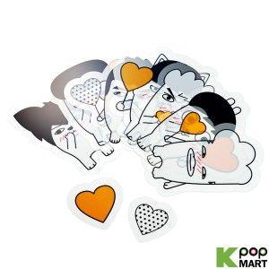 BTS Hiphop Monster  PVC Sticker