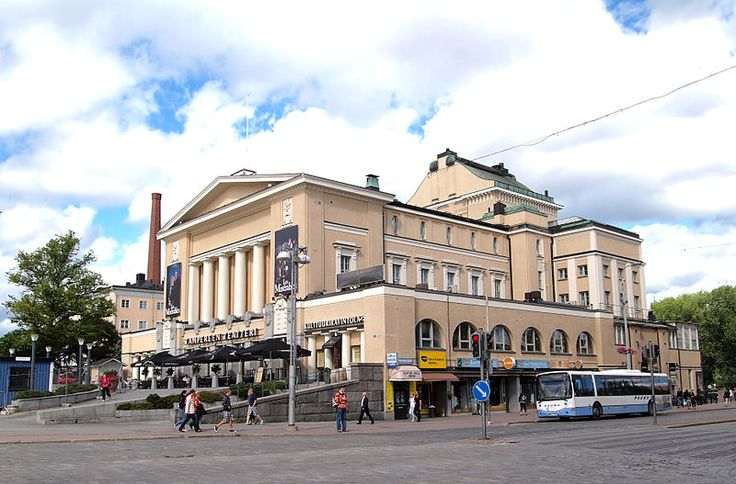 Tampere Theatre building; Finland.  Photo Tiia Monto