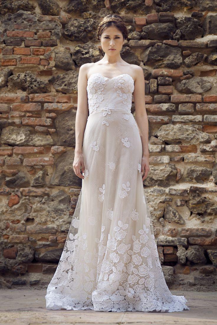 21 best Francesca Miranda Bridal Fall 2014 images on Pinterest ...