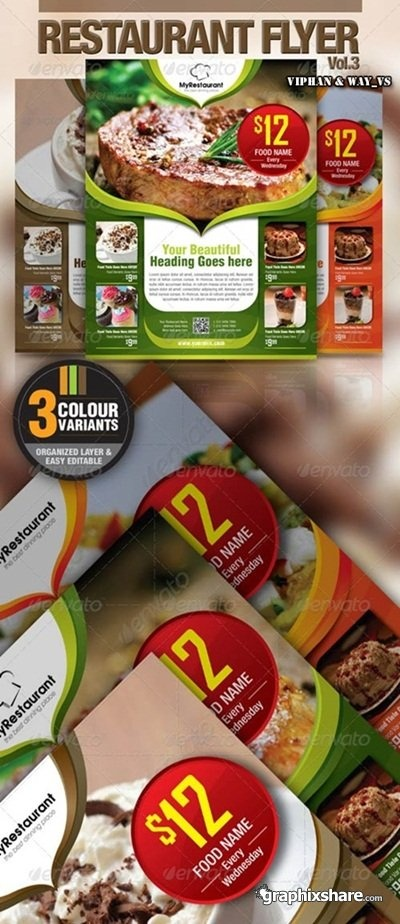 Best Restaurant Flyer Designs Images On   Flyer Design