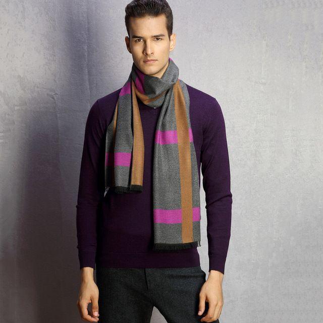 【 $6.99 & Free Shipping / Coupons 】IDUOLELELE 2016 fashion design casual Autumn winter Men's Scarf Warm Neck | worth buying on AliExpress