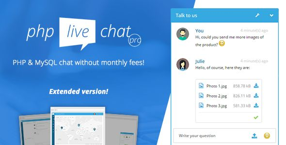 #PHP Live Chat Pro by mirrormx | #CodeCanyon http://bit.ly/2tS7LMA