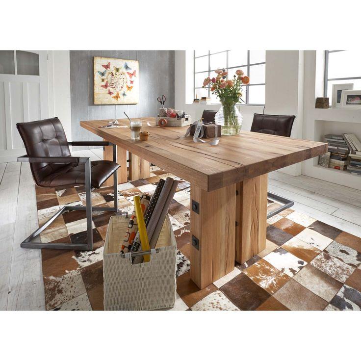 16 best ESSTISCHE   MASSIVHOLZ images on Pinterest Dining room - küchentische und stühle