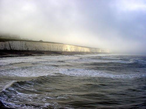 Saltdean Cliffs - view from Brighton Marina