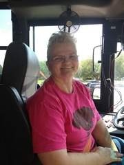 Clinton school district bus driver Janet Madden has been behind the wheel  for 30 years and said she's too busy to think about retirement.