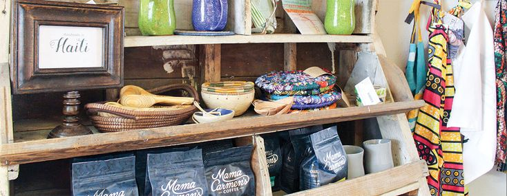 Mercy House Global Market offers fair-trade products from 26 countries