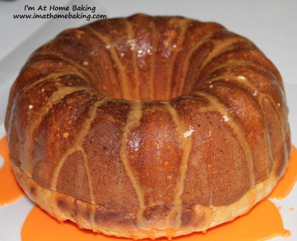 New Years Vasilopita Cake (Orange & Brandy Bundt Cake)