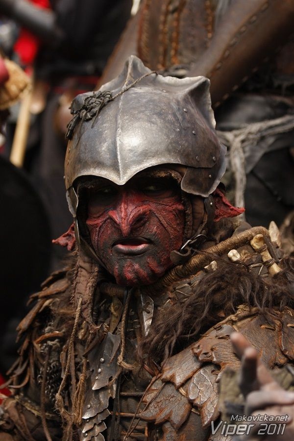 Gallus the Orc-Breaker  Goblin Berserker costume I made for
