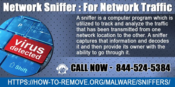 Network Sniffer : For Network Traffic  A sniffer is a computer program which is utilized to track and analyze the traffic that has been transmitted from one network location to the other. For more info :