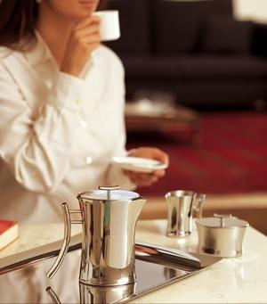 Sambonet Bamboo kaffekanne. Elegant og flott på alle bord.