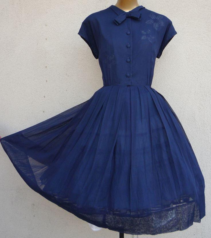 1950's spring Dresses | ... DRESSES , Vintage Wedding Dresses , 1950's Prom & MEN'S VINTAGE